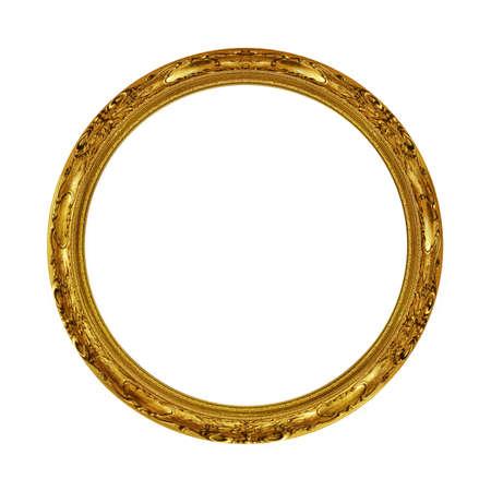古いアンティーク ゴールド フレーム 写真素材 - 15053555
