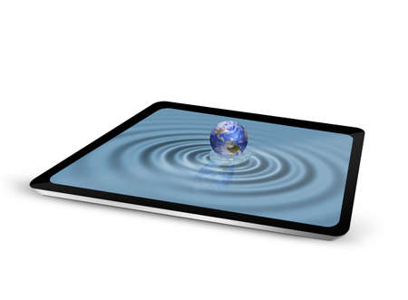 tablet pc Stock Photo - 15116813