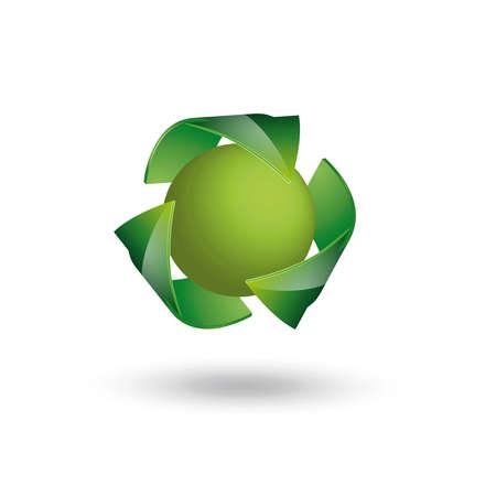 Recycle Symbol Stock Vector - 15505822