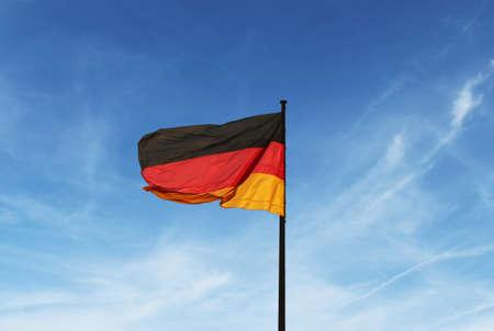 flagstaff:  flag of Germany