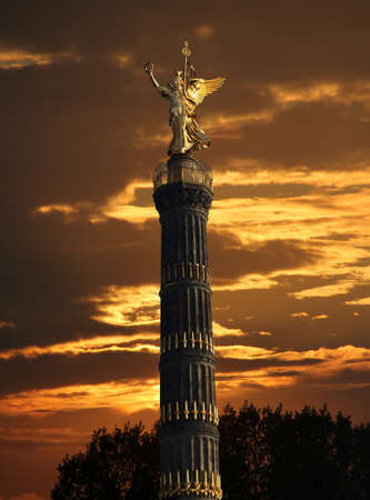 gro: Berlin Siegessaeule, victory column Stock Photo
