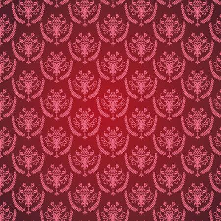 Damask seamless floral pattern Stock Photo - 18840897