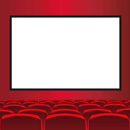 cinema seats: red room cinema