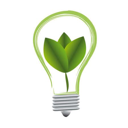 Eco light bulb Stock Vector - 18881220