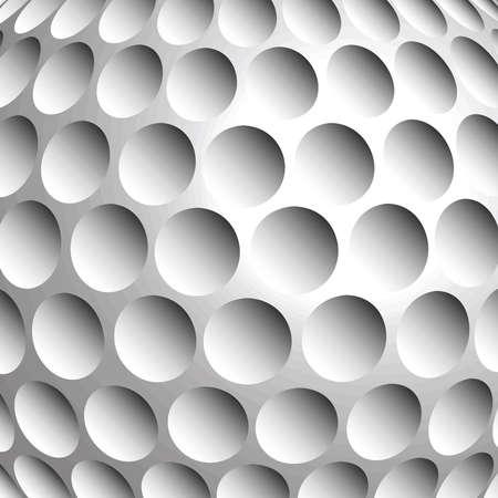 pelota de golf: Ilustraci?n de una pelota de golf Vectores