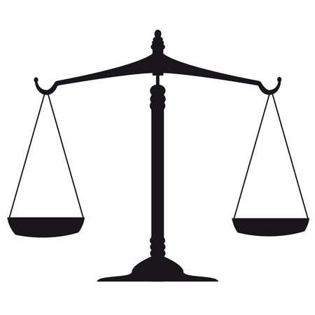 Gerechtigkeit Skalen Standard-Bild - 18949721