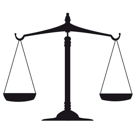 acquittal: justice scales