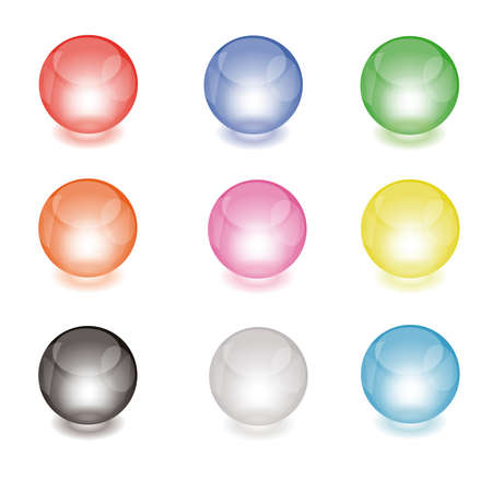 Glass balls Stock Vector - 18949725