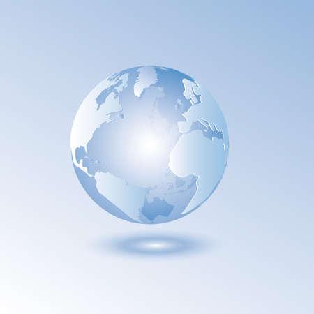 earth globe  イラスト・ベクター素材