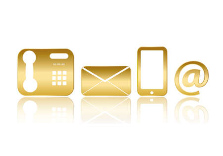 icons for Contact Us Vector