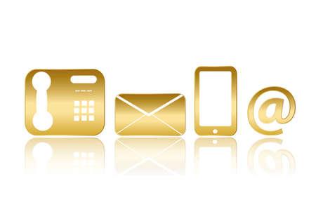 pictogrammen voor Contact