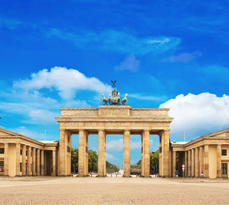 Brandenburg gate , berlin, germany photo