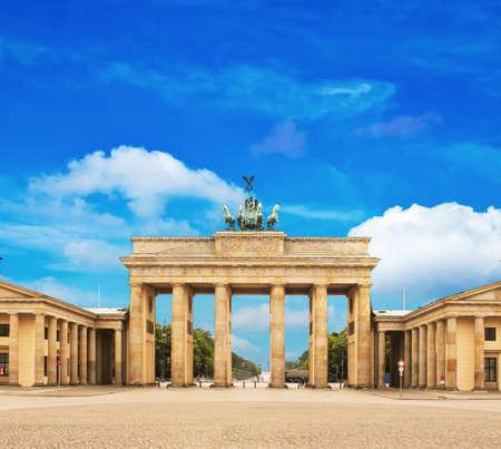 west gate: Brandenburg gate , berlin, germany Stock Photo