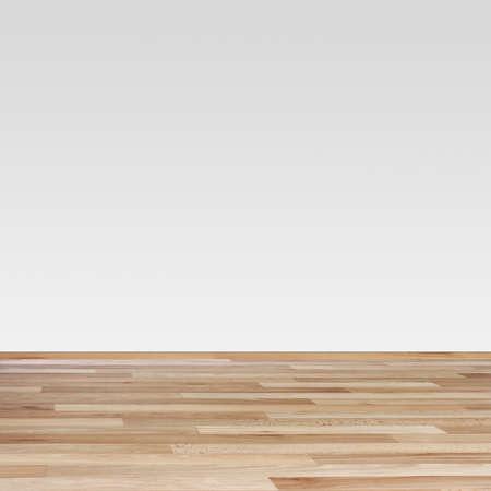 Bruin laminaat Textuur en witte muur