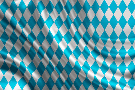 german tradition: bavaria flag Stock Photo