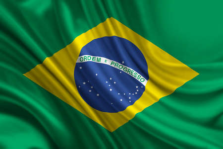 silken: Flag of Brazil