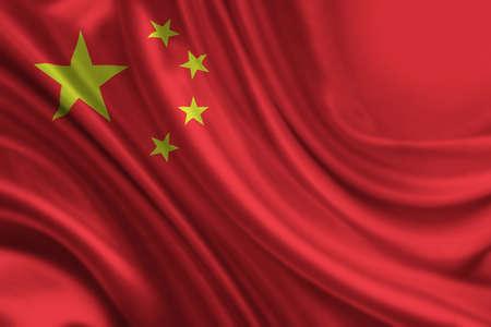 Chinese Flag photo