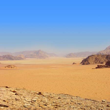 high desert: wadi Ram - Jordan