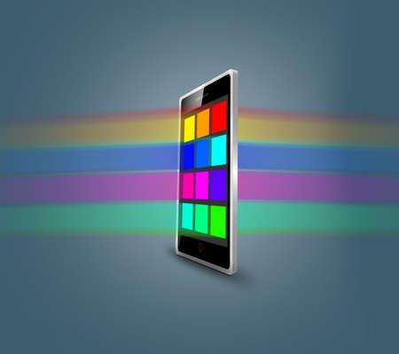 palmtop: Modern Smart Phone