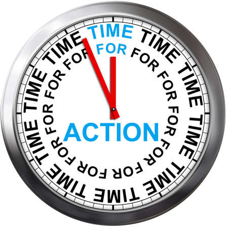Time to action Stock Photo - 24796750
