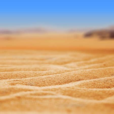 wilderness area: Sand desert