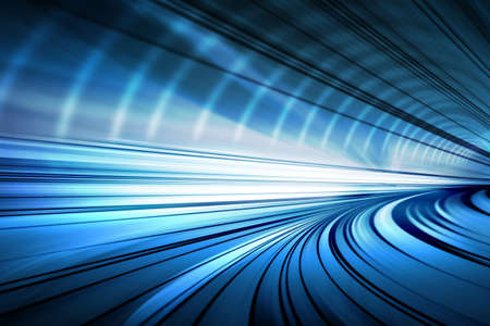 Tunnel abstraktes Standard-Bild - 27529336