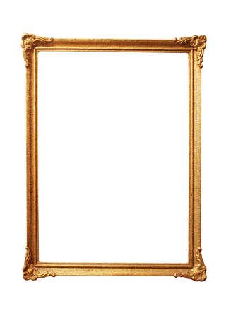 Alt antikes Goldrahmen Standard-Bild - 28468449