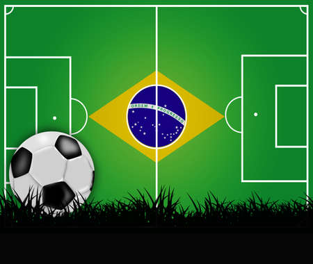 worldcup: worldcup, 2014 Stock Photo