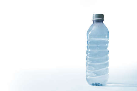 limpid: Bottle of water Stock Photo