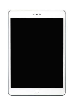 Tablet-PC isoliert auf weißem Hintergrund