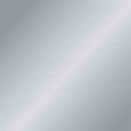 brushed aluminum background: metal background.  Illustration