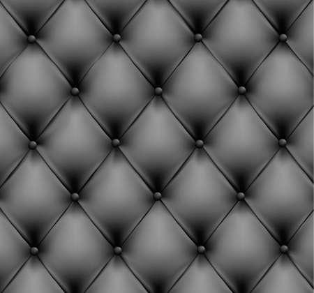 sofa viejo: Fondo gris de cuero. ilustraci�n.  Vectores
