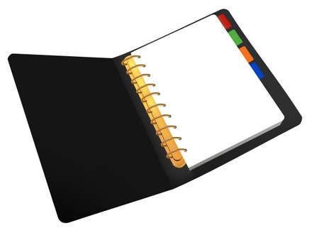Opened notebook. Stock Vector - 8791767