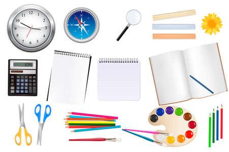 School supplies. Stock Vector - 8792070