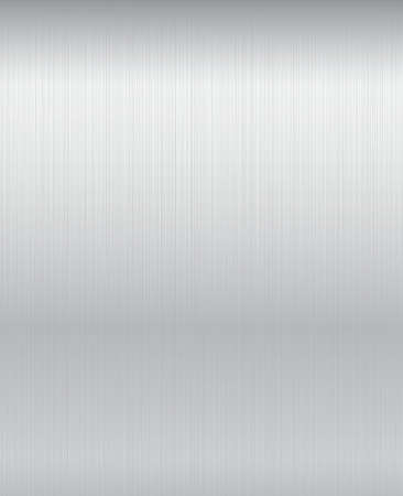 Brushed metal plate background.  Vector