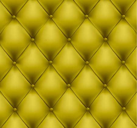 sofa viejo: Fondo de cuero verde de bot�n de monos. Ilustraci�n vectorial. Vectores