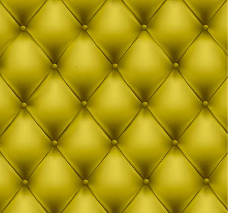 brown leather: Green button-tufted leather background. Vector illustration.
