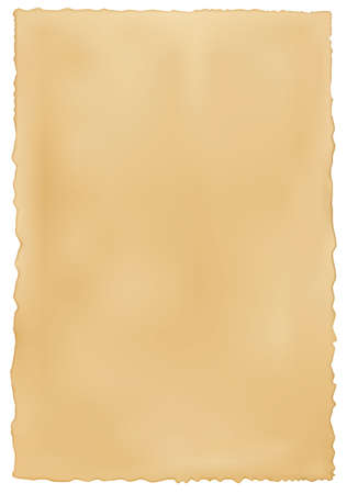 burnt edges: Old worn paper background. Vector.