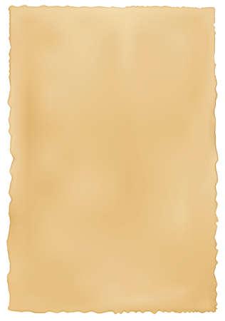 papier brul�: Vieux fond de papier us�s. Vecteur.