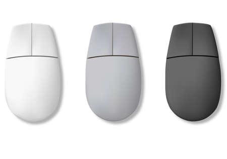 Computer mouse. Vector  Stock Vector - 9214652