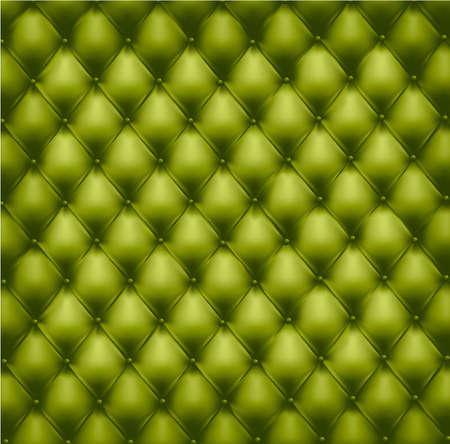 decorando: Fondo de cuero verde de bot�n de monos. Ilustraci�n vectorial.