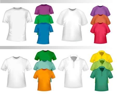 Design shirt set. Stock Vector - 9304510