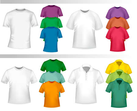 Design shirt set.  Stock Vector - 9304510