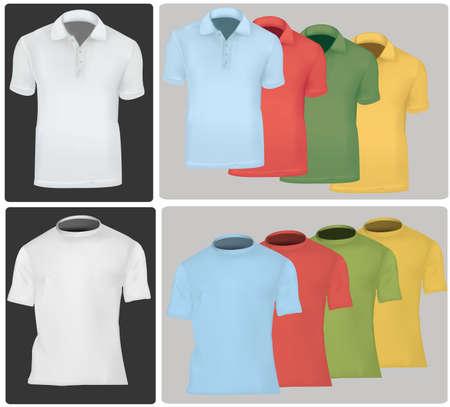 Polo shirts. Stock Vector - 9665009