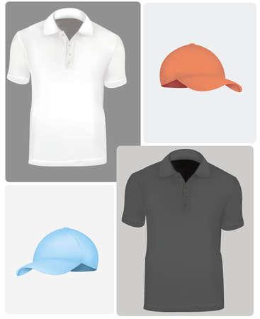 t shirt model: Polo con manichini.