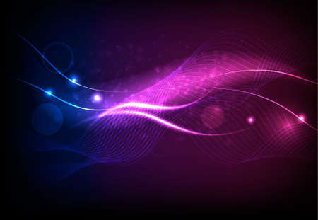 Colorful abstract neon background. Vector