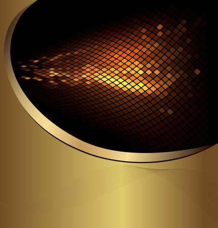gold decorations: Fondo del negocio abstracto. Ilustraci�n vectorial Vectores