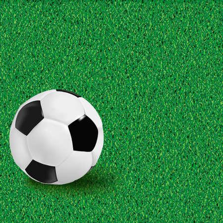 club soccer: Football backgrounds. Vector.