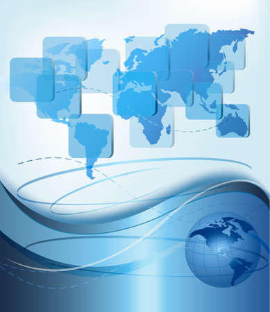 global background: Business elegant abstract background.