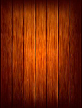 Fondo de madera oscura. Ilustración vectorial